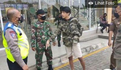 Pemuda Pelanggar Prokes dan Lawan Petugas di Ciputat Dijerat UU Karantina